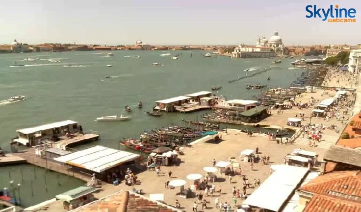 Live Webcam Venezia - Bacino di S. Marco, Riva degli Schiavoni