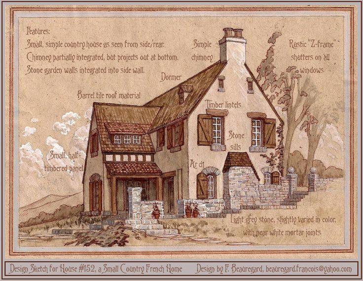 Design Sketch for House #152 by Built4ever.deviantart.com on @deviantART