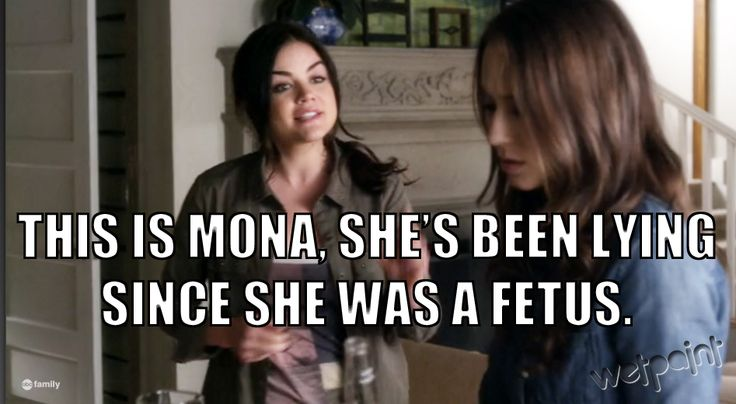 "Pretty Little Liars Quotes: Season 4, Episode 2 — ""Mona's Been Lying Since She Was a Fetus"" (PHOTOS)"