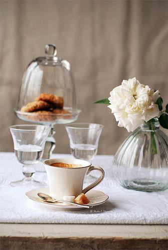 coffee in beige
