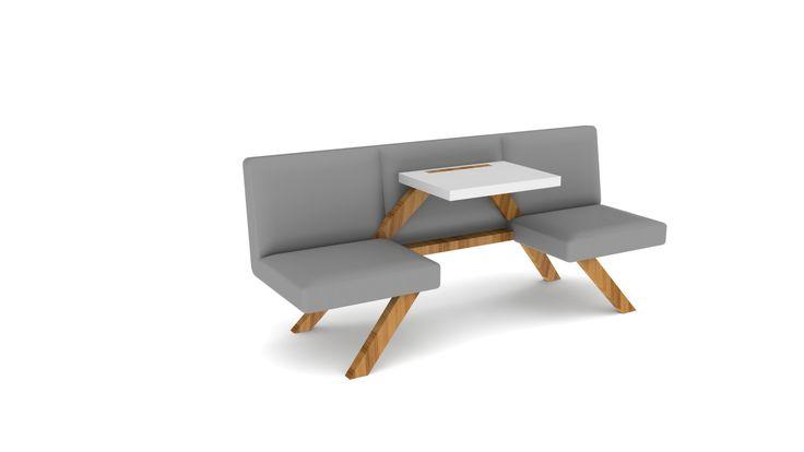 2Bworking   projectinrichting zakelijk picknicken op kantoor.