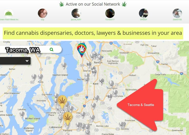 New Tacoma Seattle dispensary map update! https://cannabis.net/find/dispensary