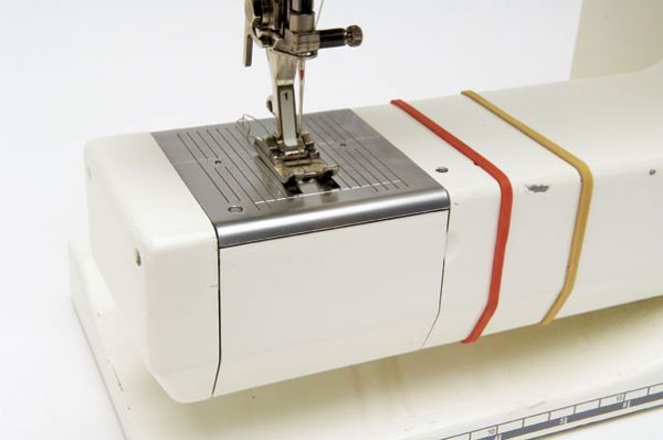 A rubber band around the base of my sewing machine is an excellent way to temporarily mark a wider-than-usual seam allowance. It's easy to follow and stays in place securely, but itrsquos...