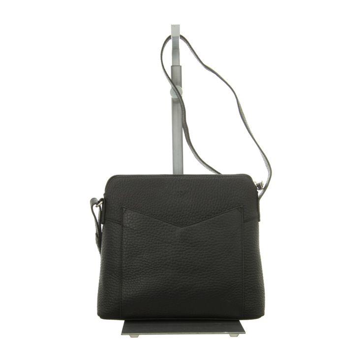 NEU: Voi Leather Design Handtaschen Crossover - 21848 SZ - schwarz -