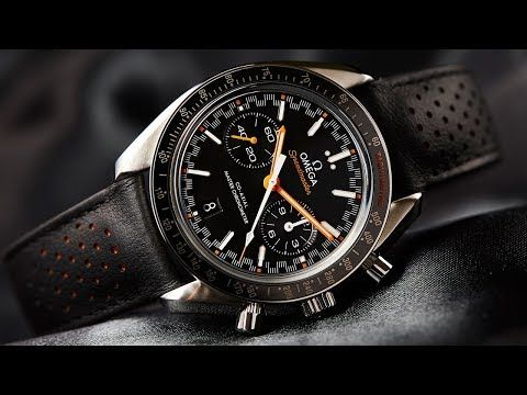 VIDEO: The Omega Speedmaster Racing Master Chronometer gets our motor running - Time and Tide Watches