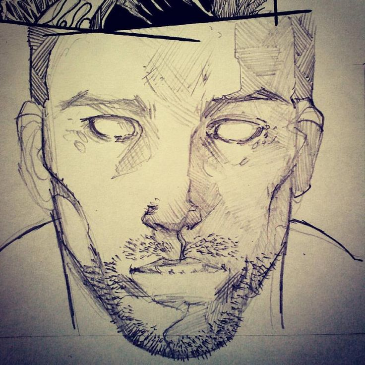 Panel from Sins of the Child. Shaun in trance #SinsOfTheChild #comicbook #comicart #comicartist #comic #emilianocorrea #art #callumfraser #writer #writing #artwork #artist #drawing #dibujo #panel #pages #shaun #historieta #viñeta #trance #illustration #ilustracion #pencils #WIP #face