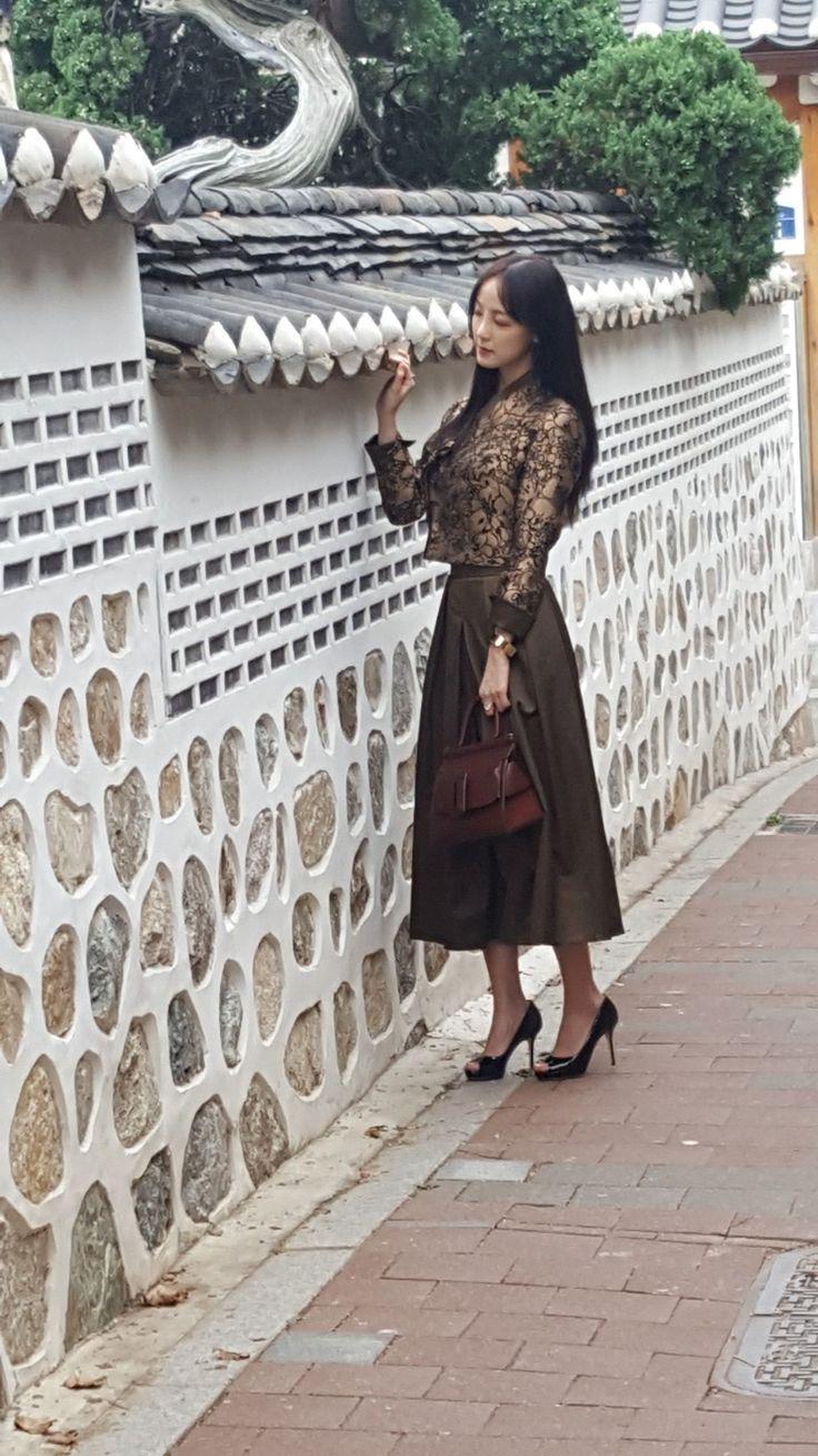 Current of hanbok  전통 속바지를 대해석한 jimee의 단속곡바자.. 저고리 쟈켓  모던한복.. 데일리한복