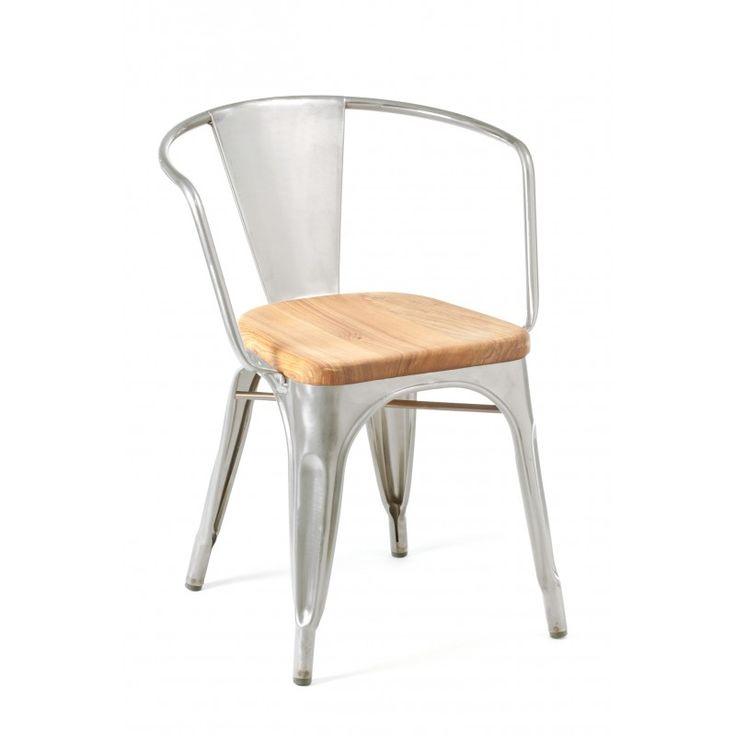 Marais Arm Chair Wood Seat First Designed By Xavier Pauchard In 1934 It