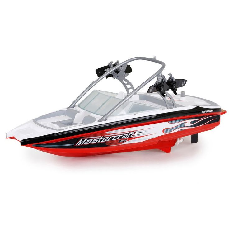 New Bright Master Craft Boat Wake Board Radio Controlled Toy - Red