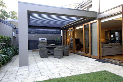vergola opening roof