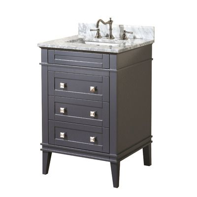 Eleanor 24 single bathroom vanity set wayfair oxford - Wayfair furniture bathroom vanities ...