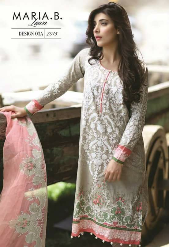 Pakistani outfit. Maria B lawn summer 2015