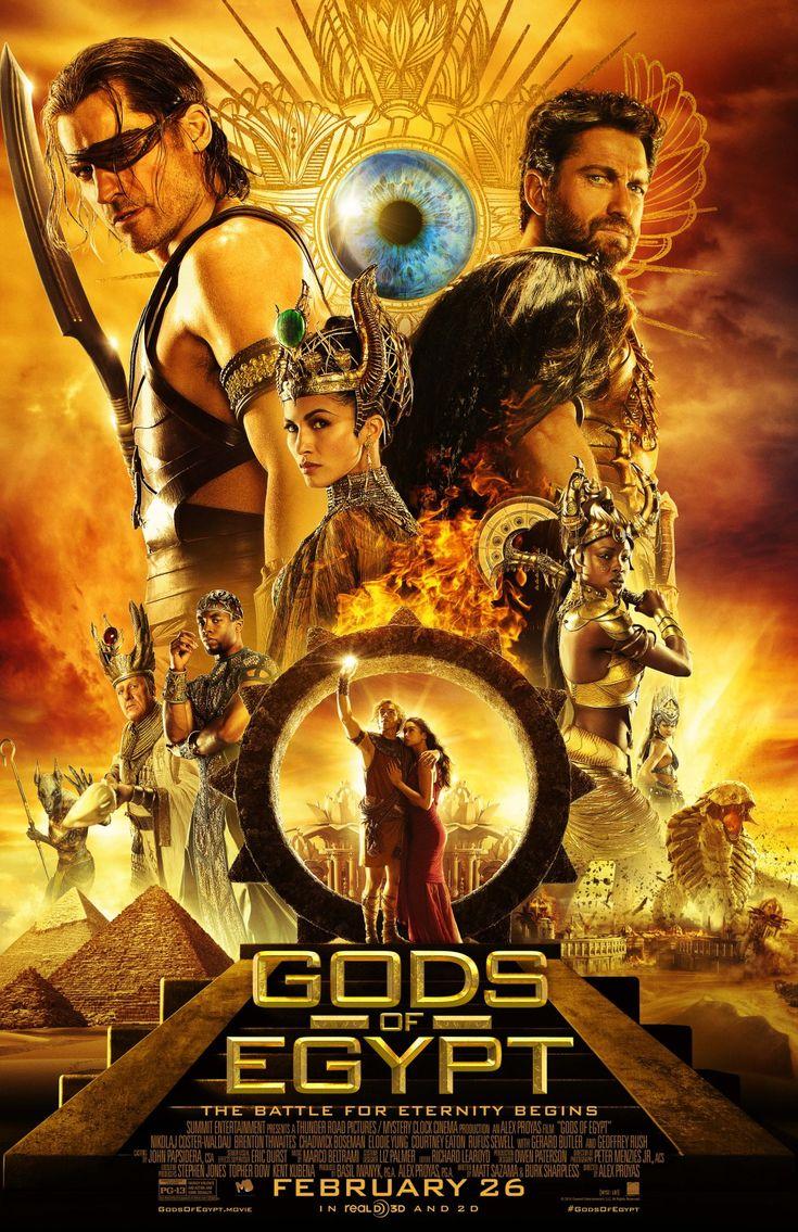 Gods Of Egypt (2016) by Alex Proyas Super Film , sehr empfehlenswert, ich liebe diesen Film und werde ihn mir auf DVD kaufen, den müsst ihr sehen. LG Sonja