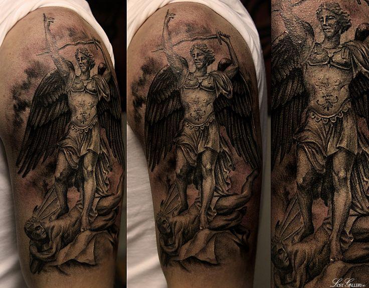 7 best archangel michael tattoos for men images on