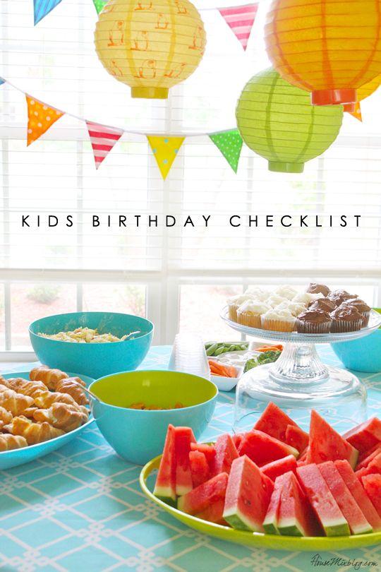 Best 25+ Birthday party checklist ideas on Pinterest