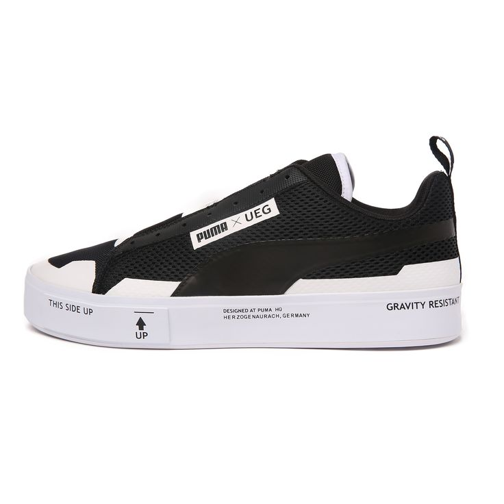 Court Play SlipOn x UEG (Puma Black-Puma White) > 스니커즈 | 힙합퍼|거리의 시작 - Now, That's Street