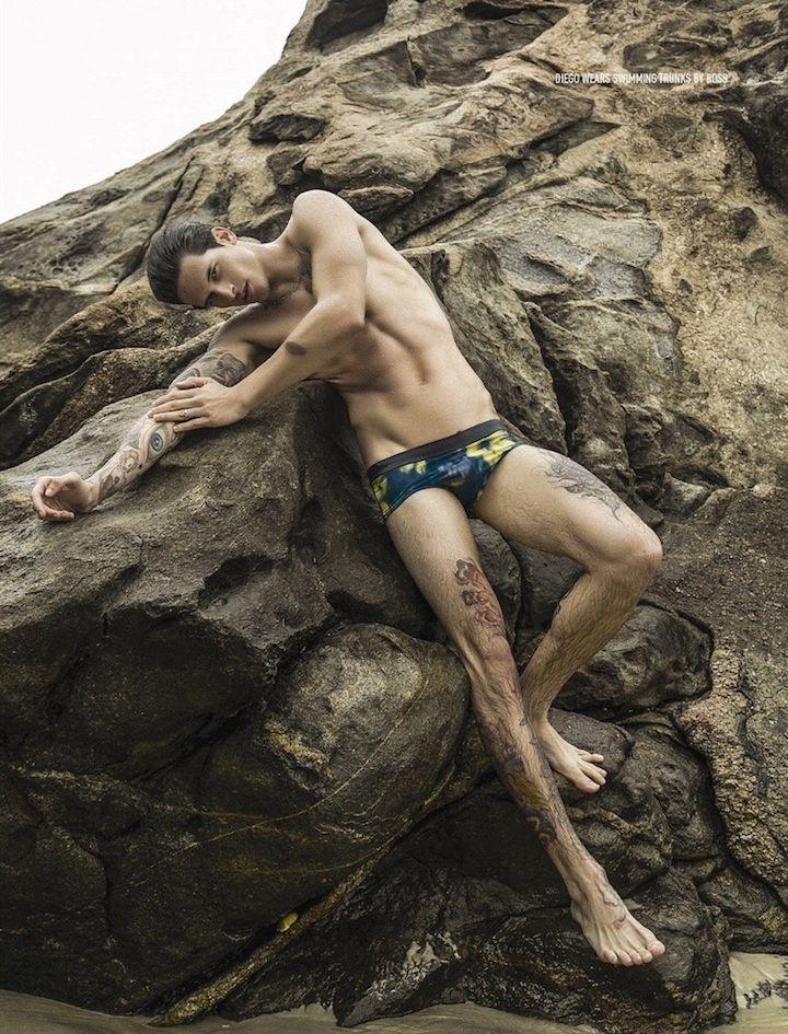 Diego Fragoso Modelos de banho para Attitude Tiro