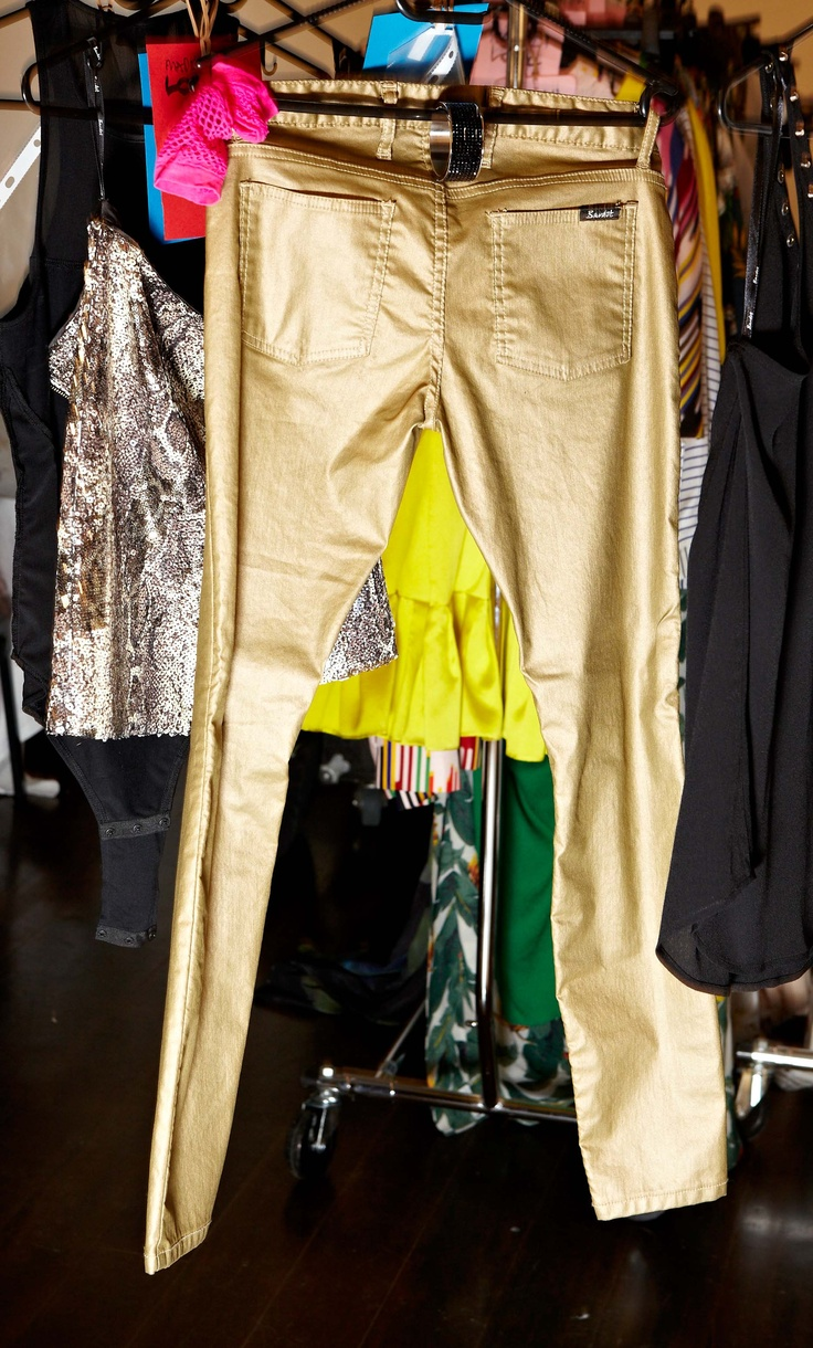 Its in the jeans - gold metallic denim from Bardot @30 days of Fashion & Beauty