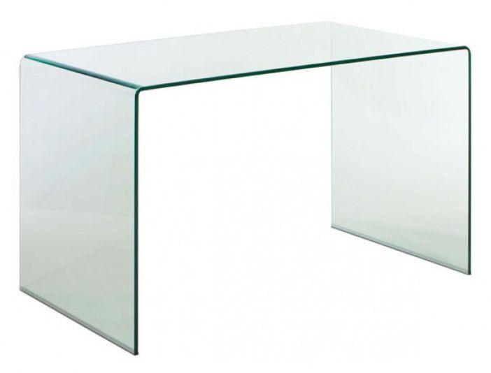 Caravan | Fabrik D Spacio - Si buscas algo único, definitivamente el escritorio de vidrio transparente templado Caravan es para ti. Redefiniendo el término de modernidad y elegancia, este escritorio albergará tu computadora, plumas y todo lo que necesites para trabajar.