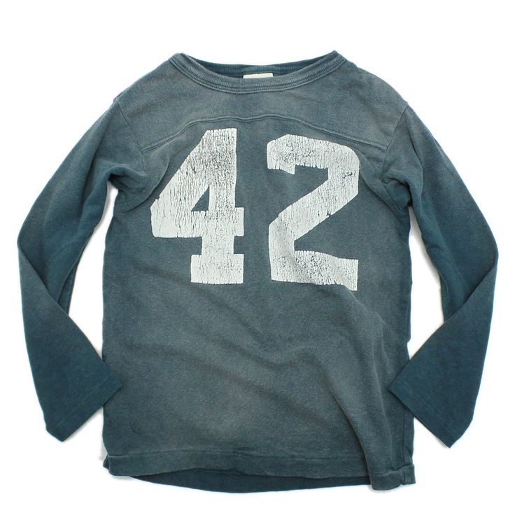 DENIM DUNGAREE(デニム&ダンガリー):ビンテージテンジク 42 9分袖Tシャツ 24ONVオールドネイビー の通販【ブランド子供服のミリバール】