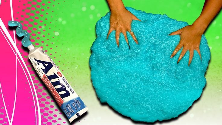 How to make Toothpaste Slime! Giant toothpaste slime! Learn how to make a giant toothpaste slime without borax or liquid starch or liquid detergent.