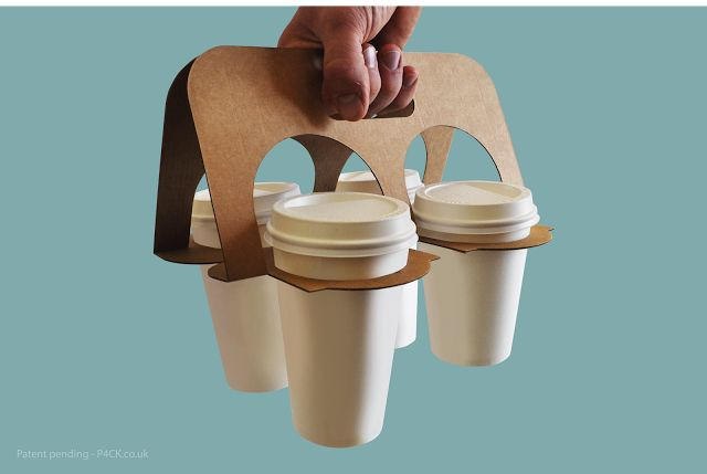 Splittable Cup Carrier on Packaging of the World - Creative Package Design Gallery