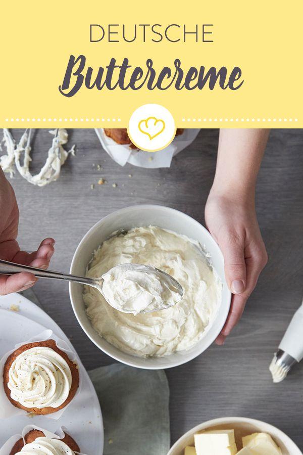 Deutsche Buttercreme selber machen – das Grundrezept   – Backe, Backe Kuchen