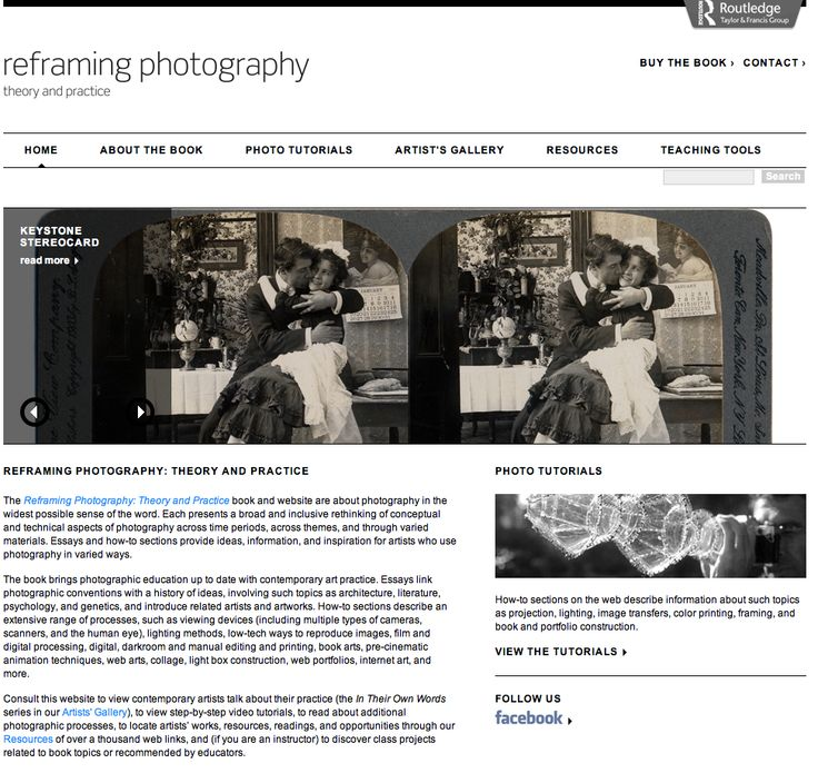reframing photography theory and practice pdf