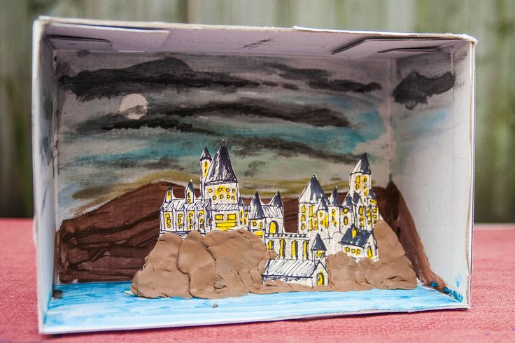 How to Make a Diorama for a Book Report (with Pictures)