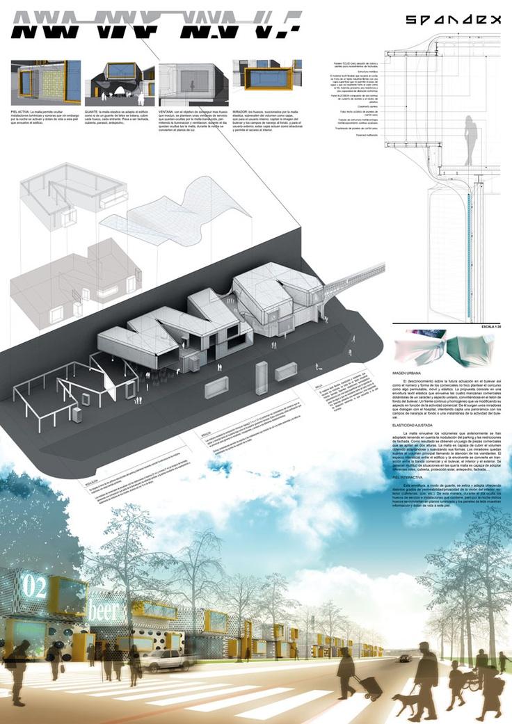 SPANDEX competition LASOPA arquitectura