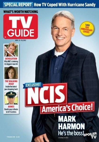 Mark na obálce TV Guide, 12. - 18. 11. 2012 (1 z 8 obálek 10-ti letého výročí)