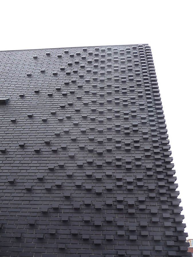 black brick building - Google Search
