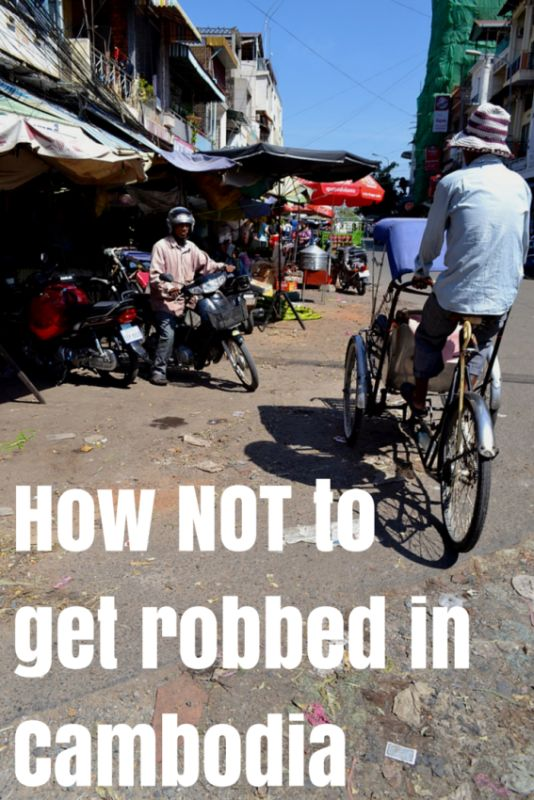 Getting Robbed in Cambodia - Adventures Around Asia