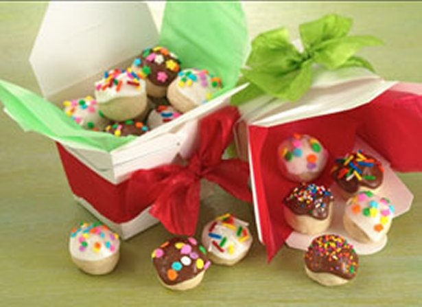 Frosted Bonbons (Cookie Exchange Quantity) With a delightful sweet surprise baked inside!