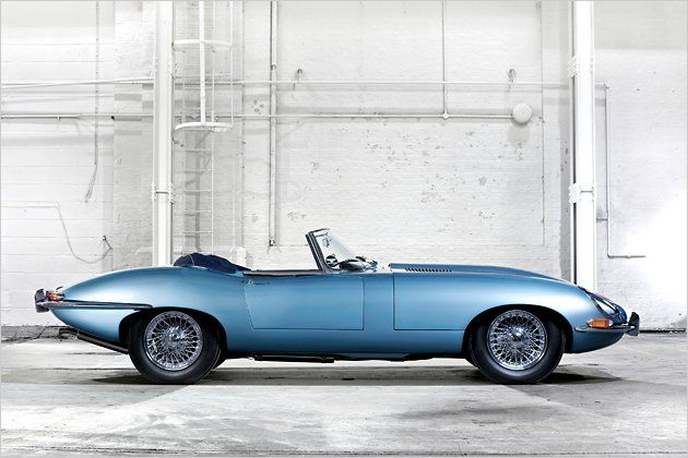 1969 Jaguar XKE Convertible - the second coolest car made by the British! Why were all cool British cars made by Jaguar?