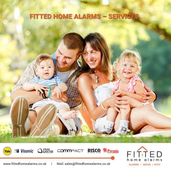Fitted Home Alarms – Services Phone: 0800 193 8727, 020 3137 8727  Mail: sales@fittedhomealarms.co.uk •Professional Burglar Alarm Fitting  •Installation of Fire Safes and Security Safe  •CCTV System Installations  •Annual Alarm Servicing  •Alarm Programming and Training Visit our website for more information: http://www.fittedhomealarms.co.uk/