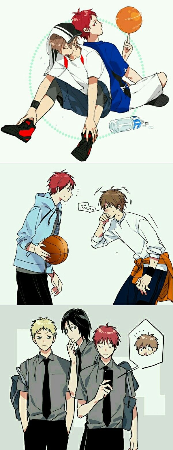 #akashi #furihata #kuroko no basket #kurobasu