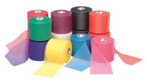 """Mueller MWrap Pre-taping foam underwrap - 48 Rolls/Case - Assorted Colors by Mueller. $59.99. MWrap¨ Colored Pre-taping foam underwrap helps protect skin from tape chafing.  Can be used to hold pads and socks in place and as a protective wrap inside hiking boots, ski boots, and other athletic footwear.  2 3/4"""" x 30 yds.  Sold only 48 rolls/case."""