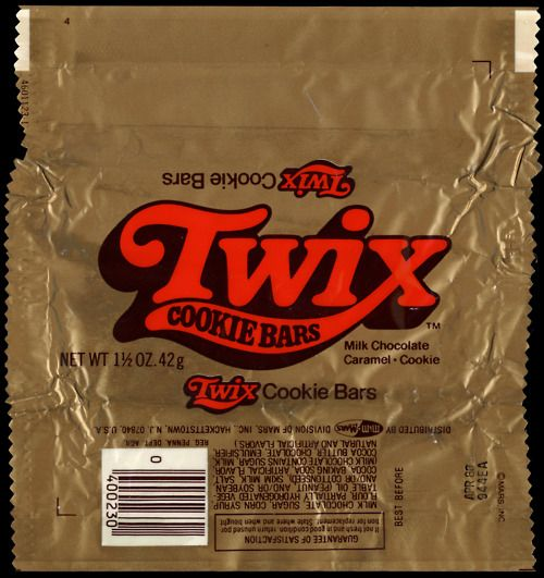 Classic Twix Wrapper 80 S Kid Pinterest Bar