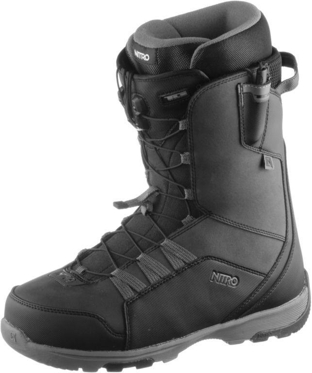 #Nitro #Snowboards #Thunder #TLS #Snowboard #Boots #Herren #schwarz/gold