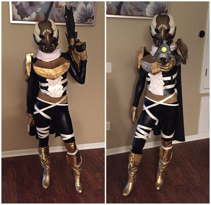 Destiny Hunter for Halloween/Future Cosplay: Nailed it ;)