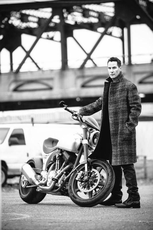 """Behind the Scenes: ARCH Motorcycle in L'Uomo Vogue (28 photos) The December issue of Vogue Italia's """"L'Uomo Vogue"""" features ARCH Motorcycle, blending Vogue's stylish aesthetic with and the power of KRGT-1. Be sure to grab a copy and check out our behind the scenes look at the shoot. Photo Credit: Emily Winiker Photography"""