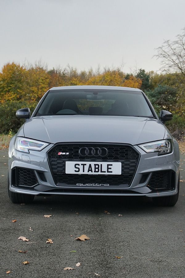 The Rs3 In Grey Works Well With The Rs3 Badge Audi Rs3