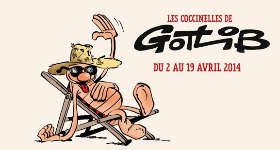 Exposition Gotlib et sa coccinelle, du 3 au 19 avril 2014