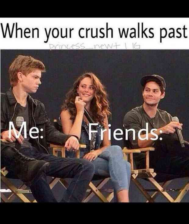 11 Memes That Nail What It Feels Like To Totally Obsess Over A Guy Really Funny Memes Funny Relatable Memes Laughing Captions
