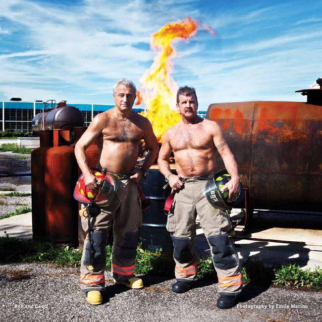 Fireman Calendar May : Images about toronto fire fighter calendar on