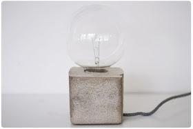 Lampfot i betong