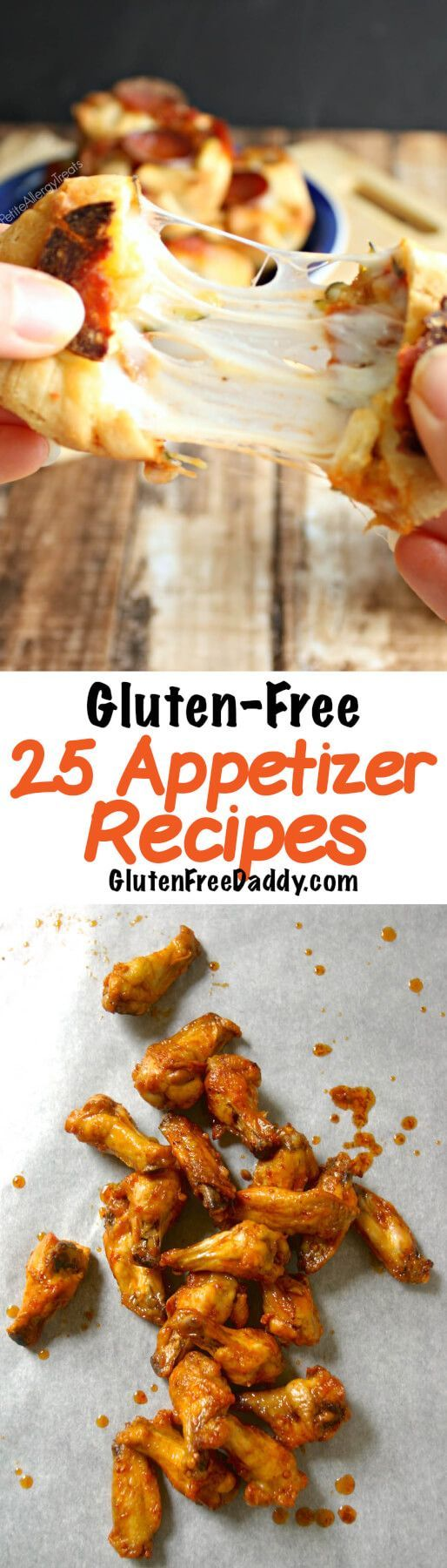 I'm pinning this list of gluten-free appetizer recipes because I love appetizers. Sometimes I just eat a few appetizers for lunch.