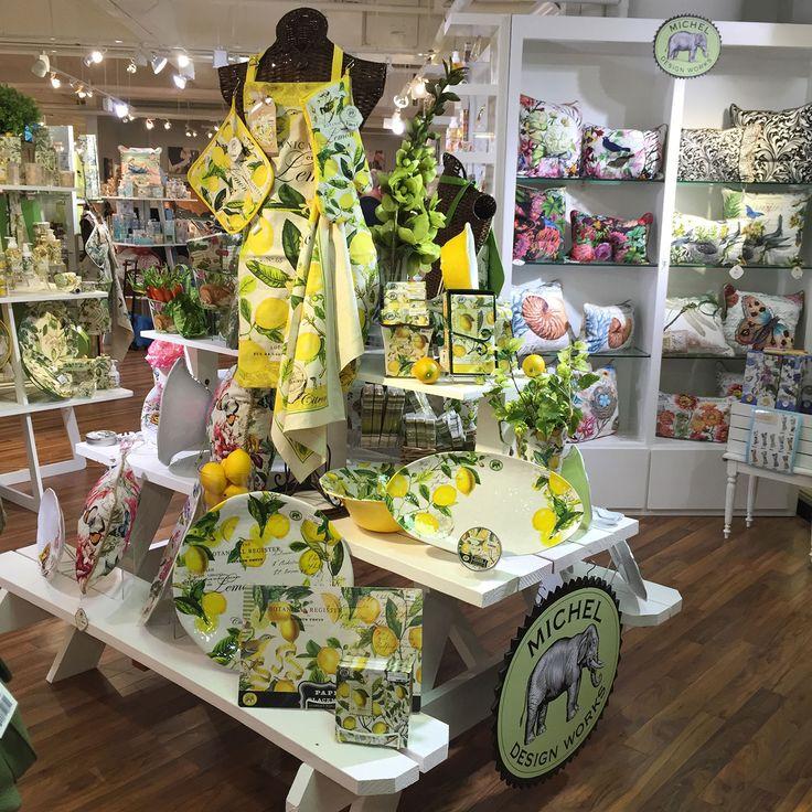 A Perennial Favorite Michel Design Works Lemon Basil Design Looks Great On This White Picnic