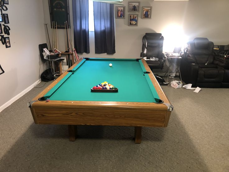 Pool table refelting and bumpers replacement by Furniture